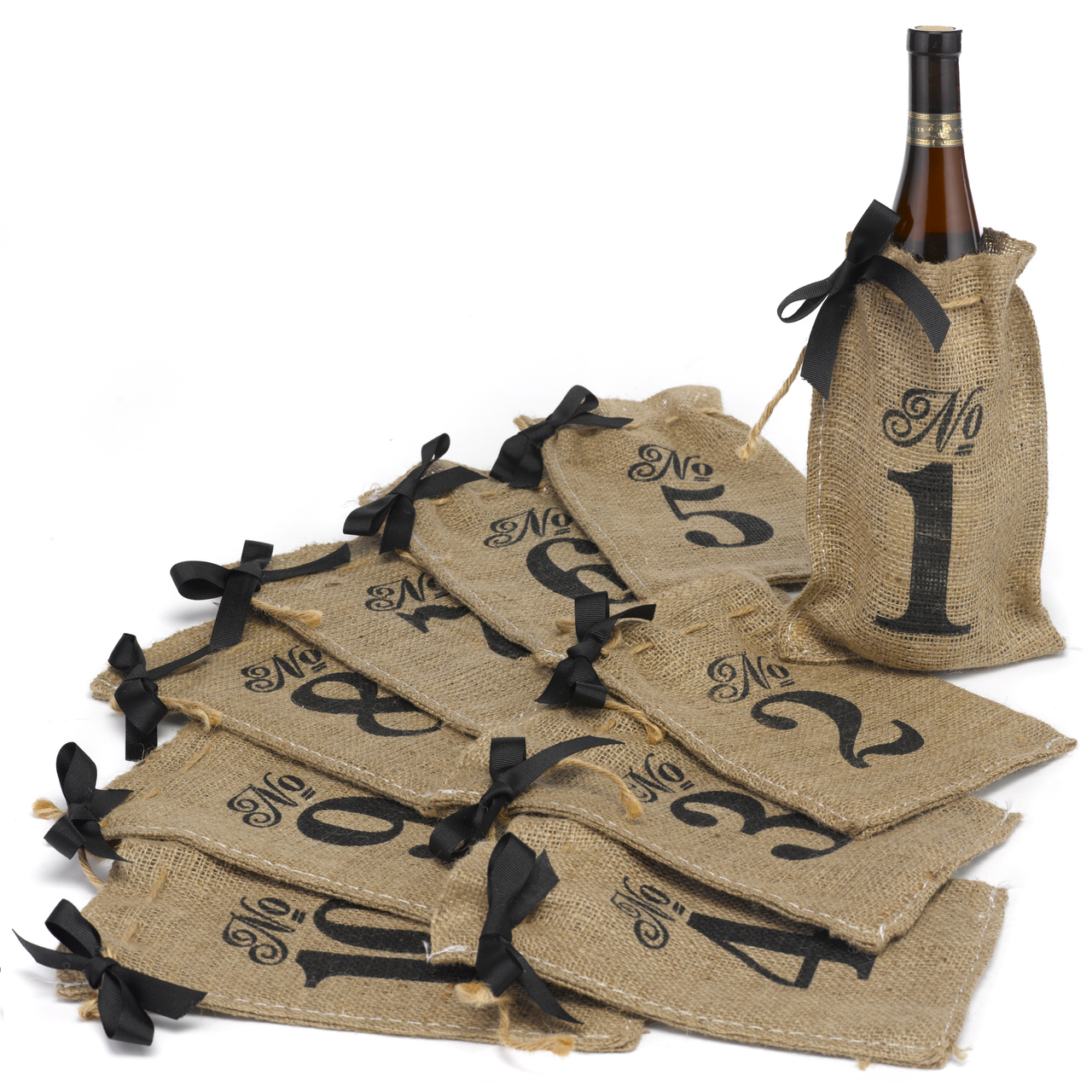 Hessian Table Numbers 1 to 10